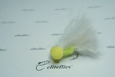 Eliteflies 12 x Reservoir Barbless Booby lures fly fishing flies Lake trout