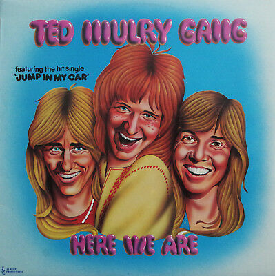 Ted Mulry Gang HERE WE ARE Australian 1st Pressing ALBERT Blue Roo RARE LP