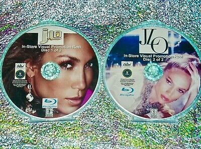 JENNIFER LOPEZ Visual Promotion Reel 84 Music Videos 2 Blu-ray DVD Set JLO Remix