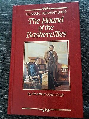 Classic Adventures The Hound Of The Baskervilles Hardback Book New