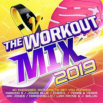 Various Artists-The Workout Mix 2019 (US IMPORT) CD NEW