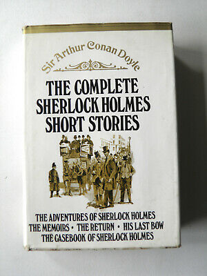 Sherlock Holmes Complete Short Stories by Sir Arthur Conan Doyle Hardback 1971