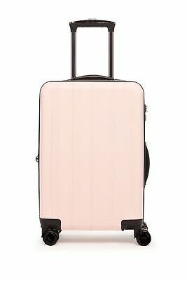 "Calpak Luggage Zyon 22"" Travel Carry-On Hardside Spinner Light Pink"