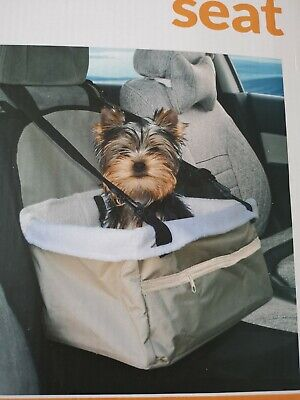 Pet Booster Seat For On Your Travels Suit 9Kg Install In 30 Seconds