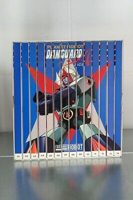 PLANET ROBOT DANGUARD ACE SERIE COMPLETA COFANETTO 14 dvd e fascicoli box nuovo