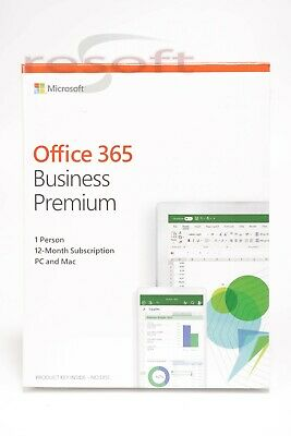 Microsoft Office 365 Business Premium - Mac / PC - 12-month subscription SEALED!