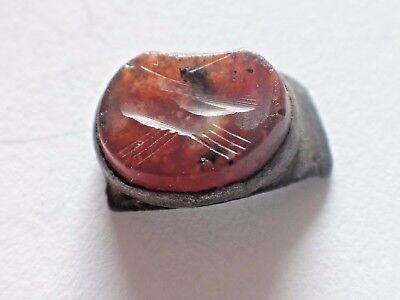 Roman ancient Gem,Carnelian 0,93 gr / 10mm 1255