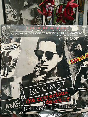 ROOM 37 Mysterious Death of Johnny Thunders Soundtrack LP (only 300) N.Y. Dolls
