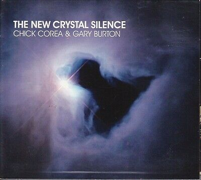 The New Crystal Silence Chick Corea Gary Burton CD Feb 2008 2 Discs Concord