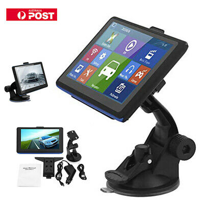504 Portable  5 Inch SAT NAV GPS Navigation Unit Europe 3D View Map 8GB ROM NEW