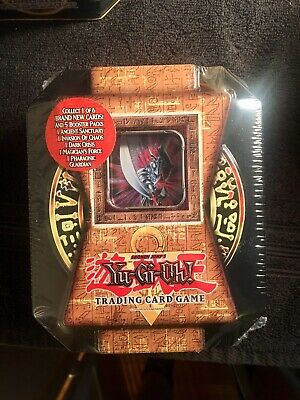 Yu-Gi-Oh 2004 Collector Tin Blade Knight Collector Tin  New Factory Sealed