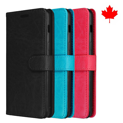 Fits Samsung Galaxy A8 2018 Case Wallet Flip Credit Card PU Leather Stand Cover