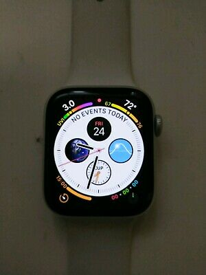 Apple Watch Series 4 44mm Aluminum Ceramic Case LTE GPS Sports Band A1976