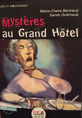 MYSTERES AU GRAND HOTEL (LIRE ET S'ENTRAINER) (FRENCH EDITION) By Sarah NEW