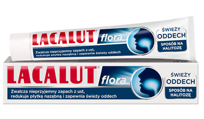Lacalut Flora Toothpaste Fresh Breath Halitosis