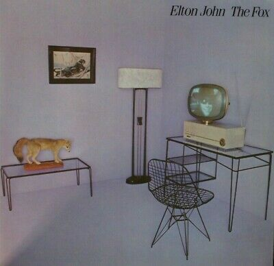 Elton John The Fox phonogram 6302106 LP53