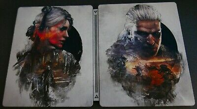 The Witcher 3 III: The Wild Hunt Steelbook Collectible Case