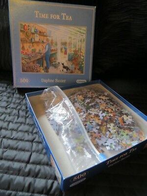 GIBSON TIME FOR TEA PUZZLE x 500 pieces