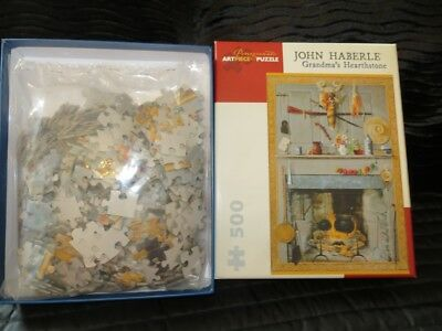 'Art Pieces' brand 500 piece jigsaw- GRANDMAS HEARTSHORE-GREAT GIFT!