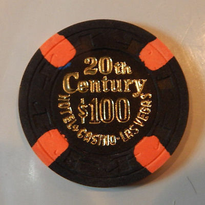 20Th Century 1St Edition $100 Casino Chip 1977-1978