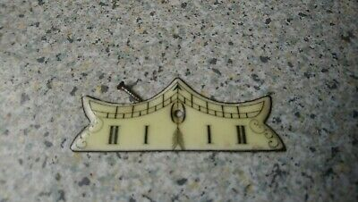 Porcelain Vienna Clock Beat Plaque