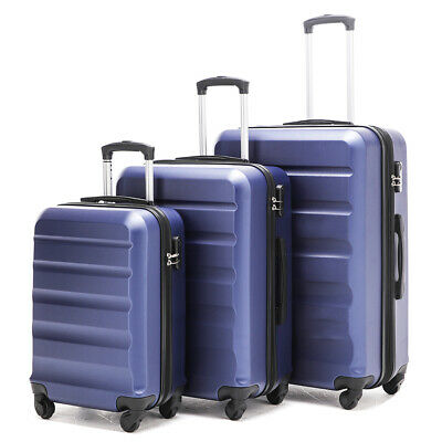 Anti-scratch hardside spinner luggage sets 3 pieces luggage set FREE SHIPPING