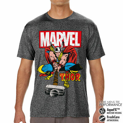 Licence Officielle The Mighty Thor Performance Homme T-SHIRT S-XXL Tailles