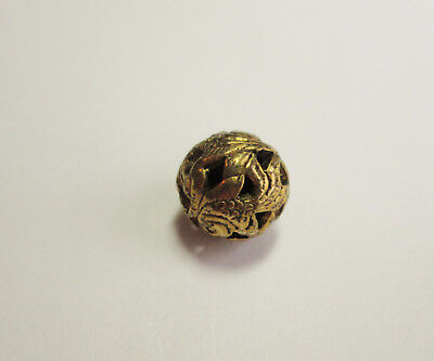 Exquisite Peasant Pierced Variant CHINESE Imitation Thread Knot Button # 3