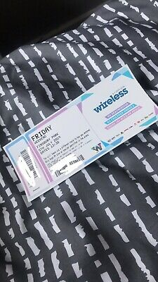 2 FRIDAY Wireless Festival 2019 (NO MORE SAT & SUN TICKETS LEFT ONLY 2 FRIDAY )
