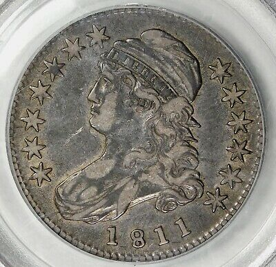 Pcgs Xf40 1811 Small 8 Capped Bust Half