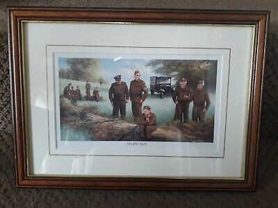 Dads Army 'STUPID BOY' Framed Picture