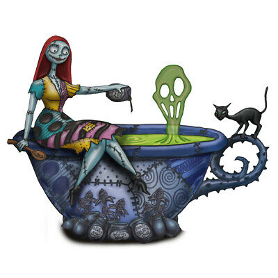 THe Nightmare Before Christmas Cheers to Fears Sally Glow-In-The-Dark Figurine