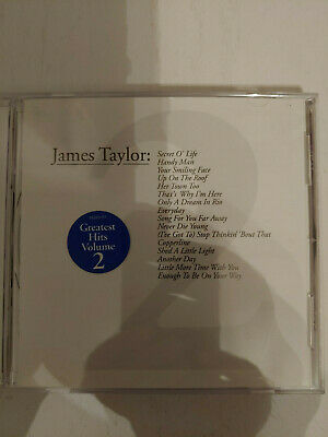 SEALED NEW CD James Taylor - Greatest Hits Volume 2 - $7 99   PicClick