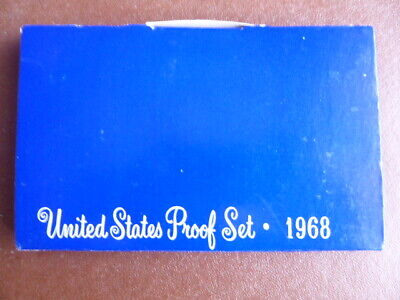 1968 US proof 5 coin set