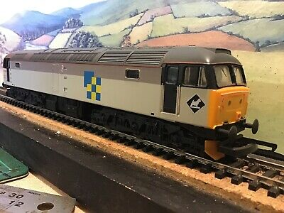 Lima Class 37 Diesel Locomotive Transrail 37401 Mary Queen Of Scots Boxed High Quality Materials Toys, Hobbies Locomotives