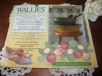 BNIP.Lovely Country/Shabby Chic Styled Wallies x 25 Wall Paper Cut Outs.102030!