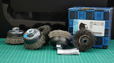 Cup brushes with thread TBU 75/14 INOX 0,30 PFERD 43469012 (5 pieces per pack.)