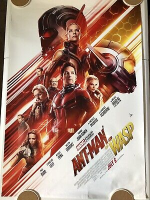 "ANT-MAN AND THE WASP Original Movie Poster 27"" X 40"" DS/Rolled - 2018 - MARVEL"