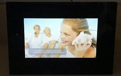 """Polaroid 7"""" Digital Picture Frame PDF-710 - New - Unboxed"""