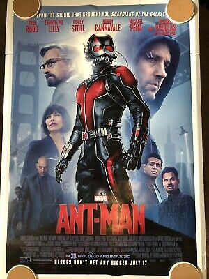 "ANT-MAN Original Movie Poster 27"" X 40"" DS/Rolled - 2015 - MARVEL"