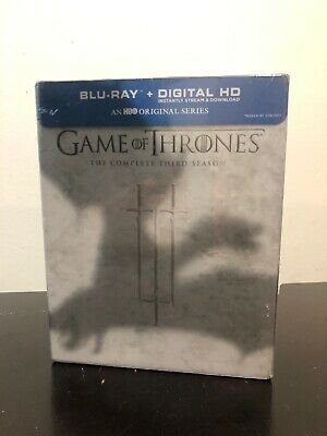 Game Of Thrones - The Complete Third Season Blu-Ray + Digital NEW SEALED