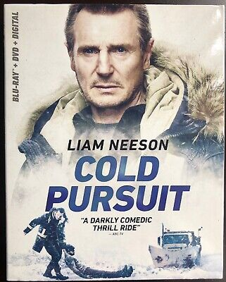 Cold Pursuit (Blu-ray +DVD + Digital HD) W/Slipcover Brand New Free Shipping