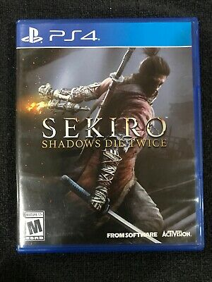 Sekiro Shadows Die Twice - PS4 Playstation 4