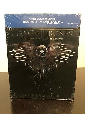 Game Of Thrones The Complete Fourth Season  Blu-Ray + Digital - Brand New