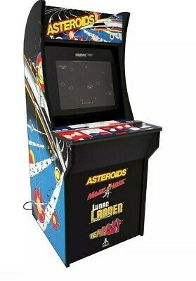 "NEW Arcade1Up Asteroids Lunar Lander Major Havoc Tempest 17"" LCD Arcade Machine"