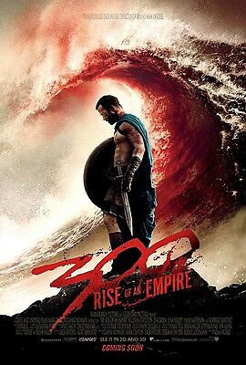 300: Rise of an Empire DS Original One Sheet Movie Poster Double Sided