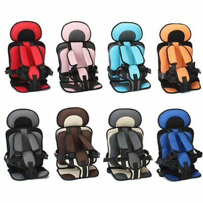 Travel Baby Safety Seat Cushion With Infant Safe Belt Fabric Mat Child Carrier