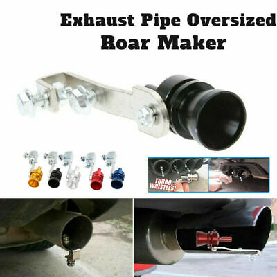 2019 Exhaust Pipe Oversized Roar Maker Simulator Car Sound Whistle Free Shipping