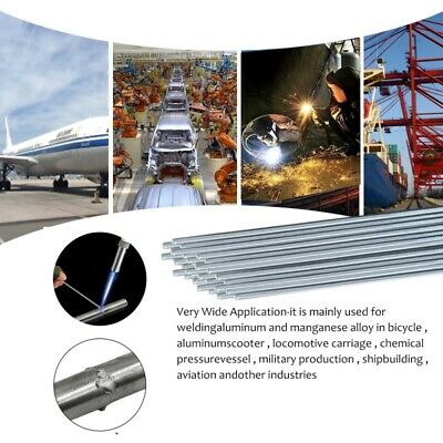 Easy Melt Welding Rods Low Temperature Aluminum Wire Core 10-50pcs 2 * 500mm AU