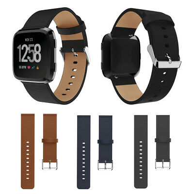 2018 New Leather Smart Wrist Watch Band Buckle Strap Bracelet For Fitbit Versa